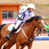 Match Horse ball cadet poney centre equestre de la dame blanche chaponost lyon rhone